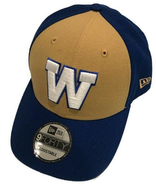 New Era CFL 9Forty Ajustable Casquette/Cap Winnipeg.