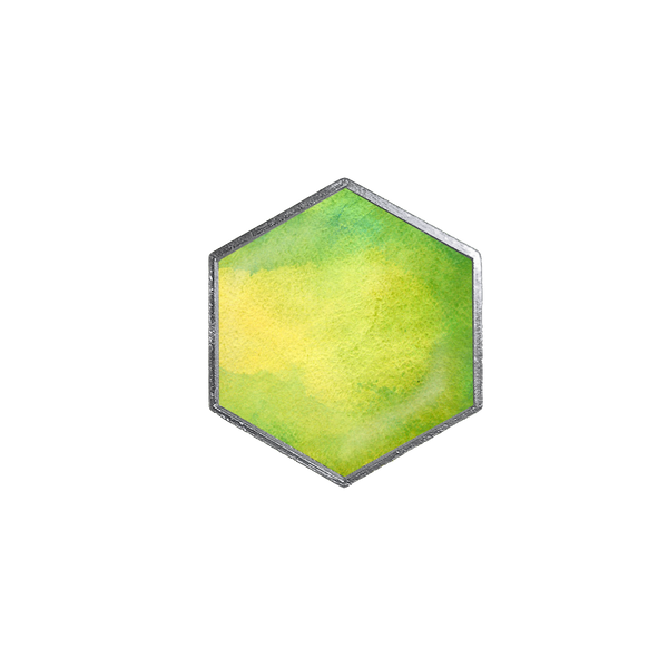 Watercolor 11 Hex - Hexlets