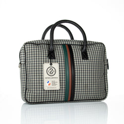 Entre 2 Rétros Vichy Laptop Checkered Bag - The Mandarin Cake Shop