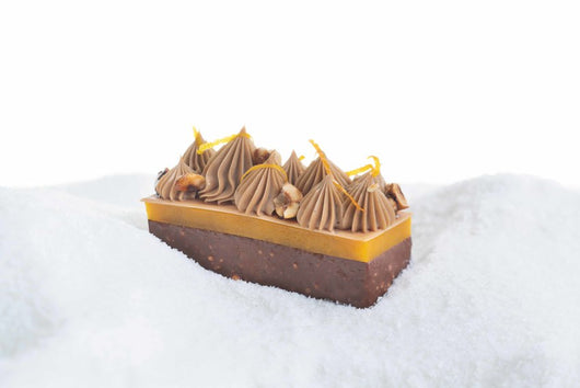 Gingerbread, Hazelnut and Passion Pastry - The Mandarin Cake Shop