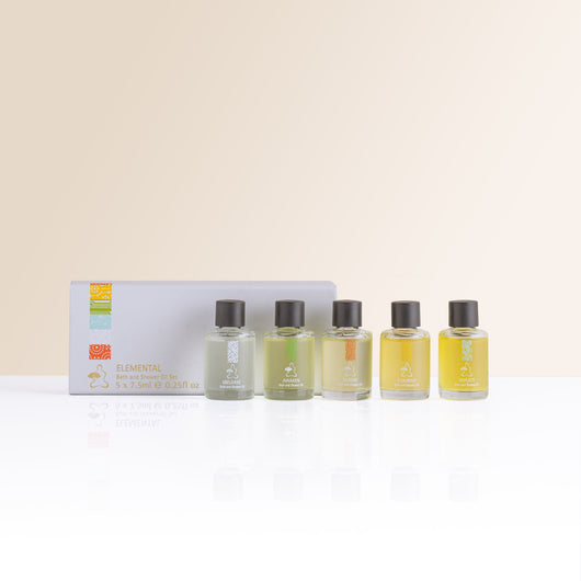 Elemental Bath and Shower Oil Set - The Mandarin Cake Shop
