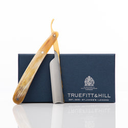 Truefitt & Hill Buffalo Horn Straight Razor - The Mandarin Cake Shop