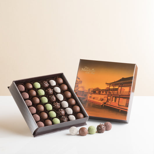 Assortment Chocolate Truffle Box - The Mandarin Cake Shop