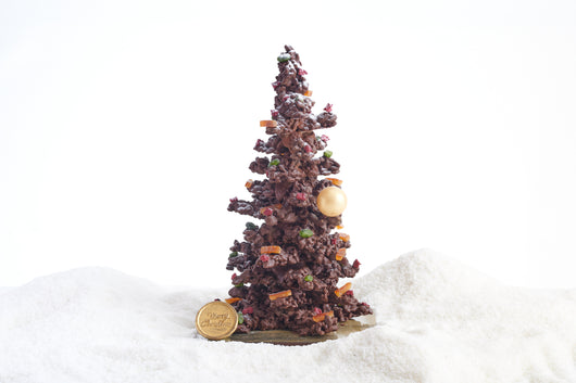 Chocolate Coated Almond and Candied Orange Tree