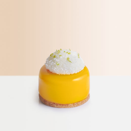 Mango Coconut Pastry - The Mandarin Cake Shop