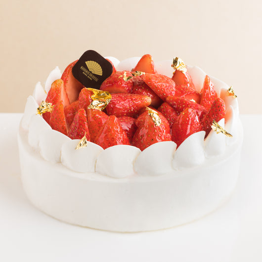 Strawberry Cream Cake - The Mandarin Cake Shop