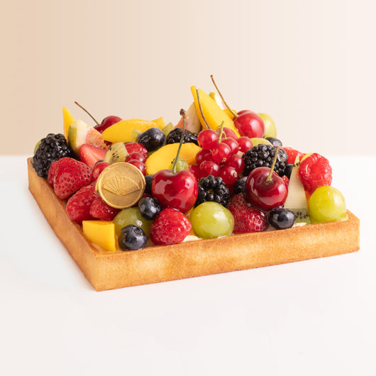 Seasonal Fruit Tart - The Mandarin Cake Shop