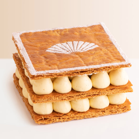 Vanilla Mille-Feuille - The Mandarin Cake Shop