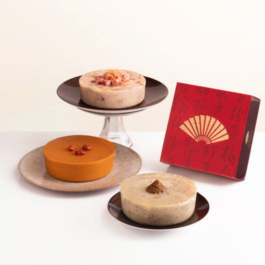 Chinese New Year Pudding <br>新春糕點 - The Mandarin Cake Shop