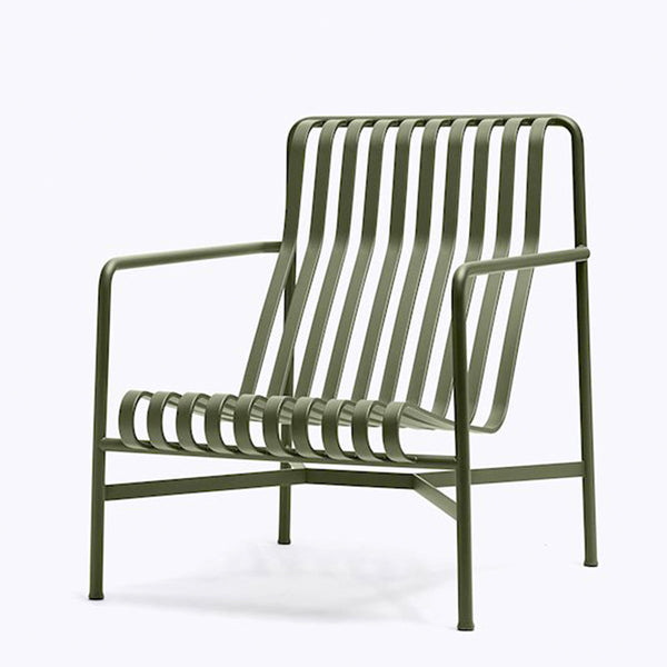 HAY Palissade Lounge Chair - Olive Green