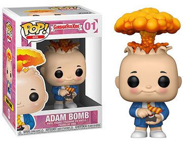 Adam Bomb (Garbage Pail Kids) 01  [Damaged: 7.5/10]