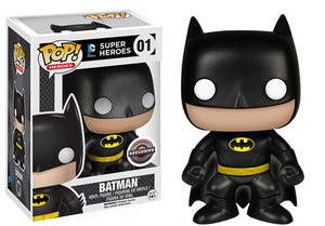 Batman 01 (1989 Black) - Gamestop Exclusive Pop Head
