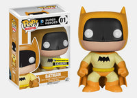 Batman (Yellow, Rainbow 75th Anniversary) 01 - Entertainment Earth Exclusive  [Damaged: 6/10] Pop Head