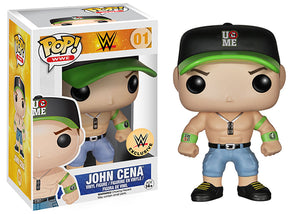 John Cena (Green Hat, WWE) 01 - WWE Exclusive  [Condition: 7.5/10]