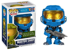 Master Chief (Blue, Halo) 01 - Barnes & Noble Exclusive  [Condition: 7/10]