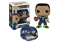 Russell Wilson (Wave 1, Seattle Seahawks, NFL) 01 **Vaulted**  [Damaged: 7/10]