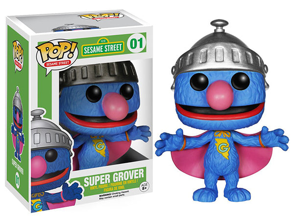 Super Grover (Sesame Street) 01 Pop Head