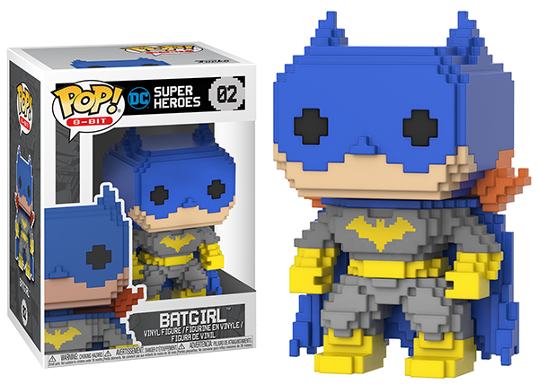Batgirl (Blue, 8-Bit) 02  [Damaged: 7/10]
