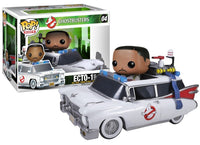 Ecto-1 w/Winston Zeddemore (Rides, Ghostbusters) 04  [Damaged: 7/10] Pop Head