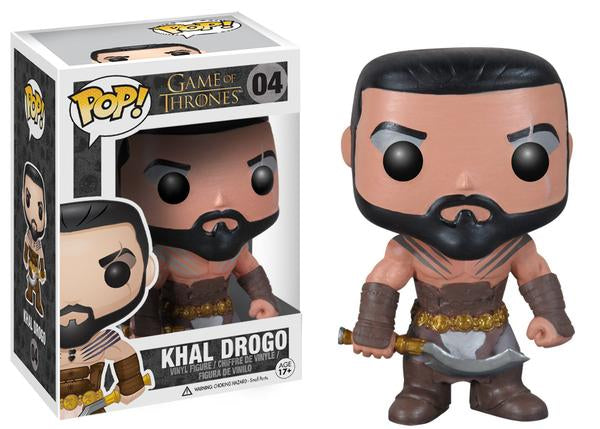 Khal Drogo (Game of Thrones) 04  [Damaged: 7/10]