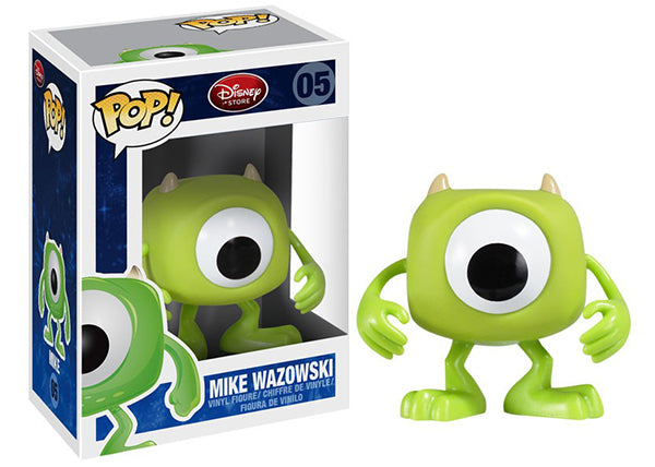 Mike Wazowski (Disney Store, Monsters Inc.) 05  [Condition: 7/10]