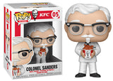 Colonel Sanders (Chicken Bucket, Icons) 05  [Damaged: 7.5/10]
