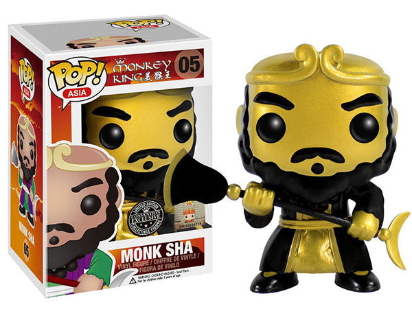 Monk Sha (Gold, Monkey King) 05 - Asia/Convention Exclusive [Damaged: 5/10]