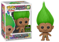 Green Troll (Good Luck Trolls) 07 - 2020 Spring Convention Exclusive  [Damaged: 7/10]