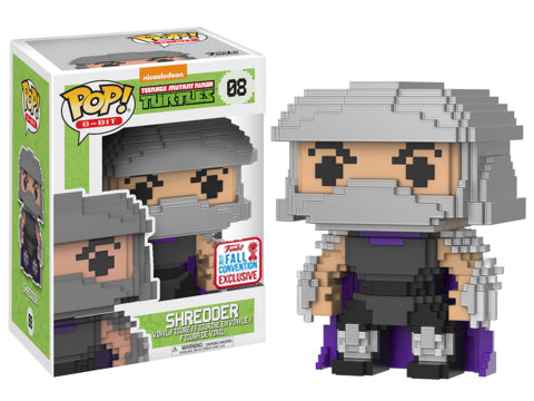 Shredder (8-Bit, Teenage Mutant Ninja Turtles) 08 - 2017 Fall Convention Exclusive