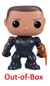 Out-of-Box Commander Shepard (Mass Effect) 09  **Missing Eyebrows**
