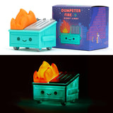 > Dumpster Fire Night Light Vinyl by 100% Soft
