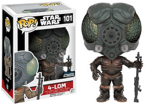 4-Lom 101 - 2016 Star Wars Celebration Exclusive  [Damaged: 7/10]
