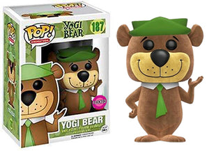 Yogi Bear (Flocked, Hanna Barbera) 187  [Damaged: 7/10]