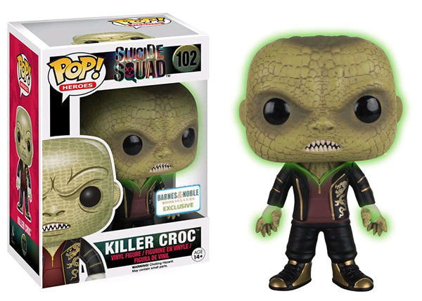 Killer Croc (Glow in the Dark, Suicide Squad) 102 - Barnes & Noble Exclusive