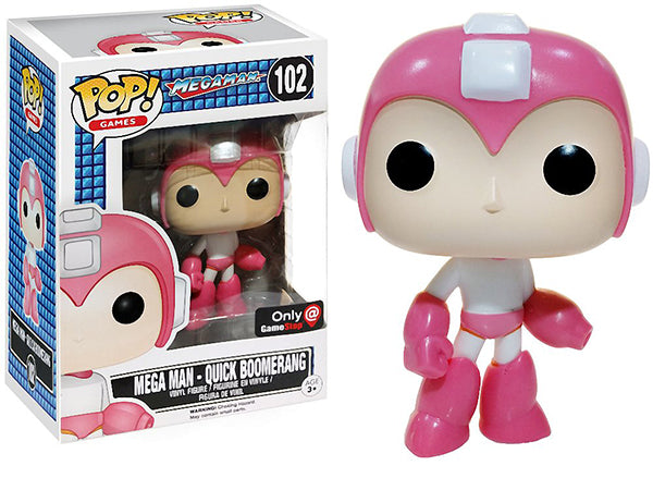 Mega Man (Quick Boomerang) 102 - Gamestop Exclusive [Damaged: 7/10]