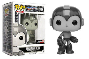 Mega Man: Retro (Mega Man) 102 - Gamestop Exclusive Pop Head