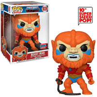 Beast Man (10-Inch, Masters of the Universe) 1039 - 2020 Fall Convention Exclusive  [Damaged: 7.5/10]