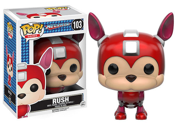 Rush (Mega Man) 103 Pop Head
