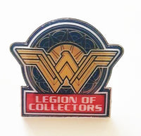 DC Heroes Legion of Collectors Exclusive Pins - Wonder Woman