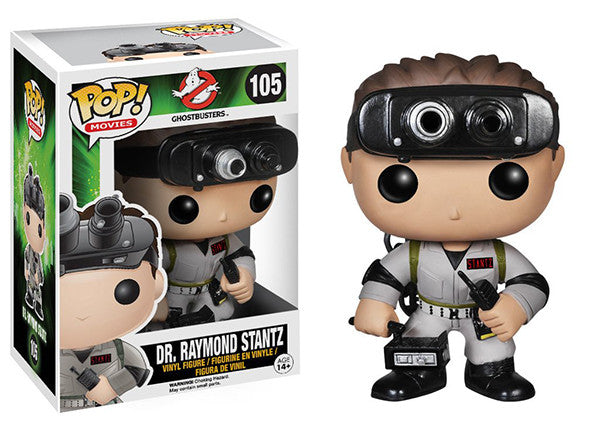 Dr. Raymond Stantz (Ghostbusters) 105  [Damaged: 6/10]