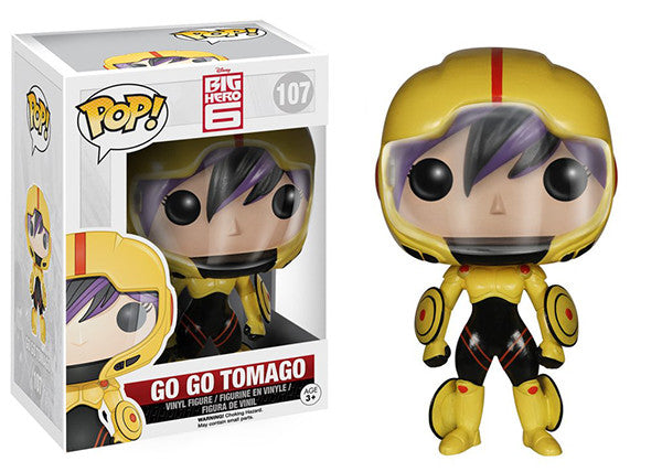 Go Go Tomago (Big Hero 6) 107  [Damaged: 4/10] Pop Head