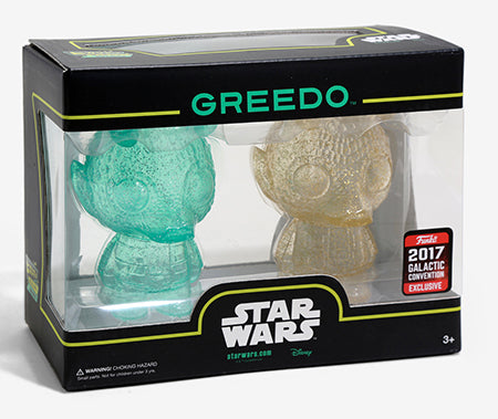 Mini Hikari Greedo (2-pack, Green & Gold) - 2017 Galactic Convention Exclusive