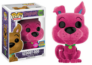 Scooby Doo (Flocked Pink, Hanna Barbera) 149 - Funko Pop!-Up Shop Exclusive /1000 made  [Condition: 7.5/10]