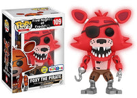 Foxy the Pirate (Glow in the Dark, Five Nights at Freddy's) 109 - Toys R Us Exclusive  [Damaged: 7.5/10]