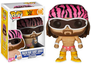 Macho Man Randy Savage (Pink Trunks, WWE) 10 - WWE Exclusive [Condition: 7.5/10]