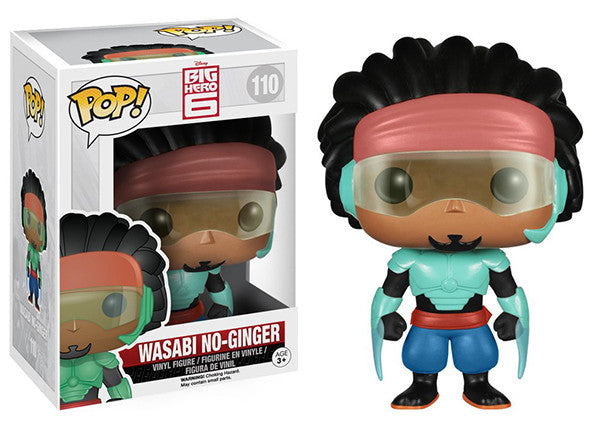 Wasabi No-Ginger (Big Hero 6) 110 **Vaulted** Pop Head