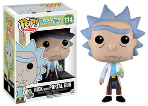 Rick w/ Portal Gun (Rick & Morty) 114  [Damaged: 710]