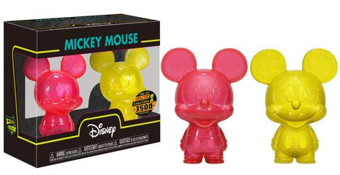 Mini Hikari Mickey Mouse (Red & Yellow) 2-Pack /3500 made  [Damaged: 7.5/10]