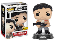 Poe Dameron (Jacket & Blaster) 117 - Hot Topic Exclusive  [Damaged: 7/10]