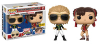 Captain Marvel vs Chun Li (Player 2, Marvel vs Capcom) 2-pk - Hot Topic Exclusive  [Damaged: 7.5/10]
